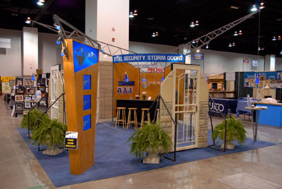 secure-all home show booth